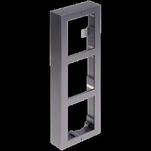 Rama montaj aparent, 3 module, pentru Interfon modular - HIKVISION DS-KD-ACW3 [0]