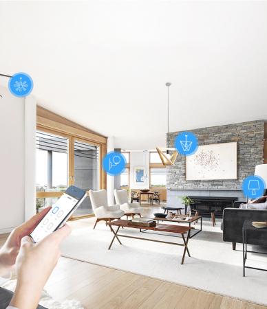 Releu Smart WiFi, Control din aplicatie, 4 canale - Sonoff 4CHR3 [3]
