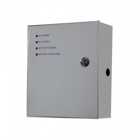 Sursa de alimentare cu back-up 12V 5A in cabinet metalic - SDC-12-5B [0]