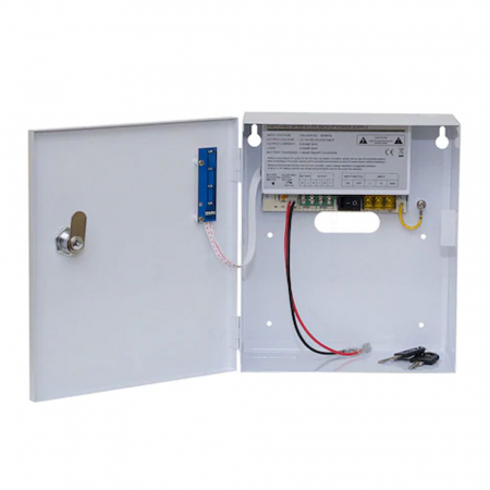Sursa de alimentare cu back-up 12V 5A in cabinet metalic - SDC-12-5B [1]