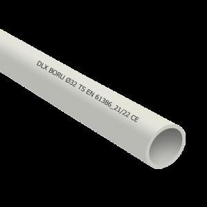 Tub PVC rigid D25, 750N, Halogen free, 3m - DLX TRP-802-25 [0]