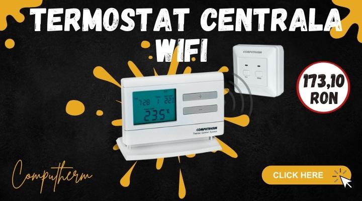 Termostat centrala Wifi Computherm Q3RF