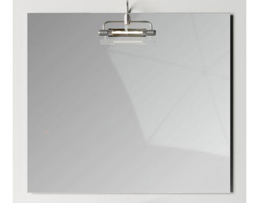 Mobilier baie alb din pal melaminat 1