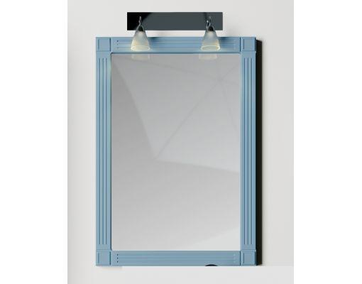 Mobilier baie albastru din lemn masiv tei opac si blat solid surface 3