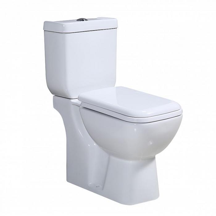 Vas wc Duobloc cu rezervor si capac Soft Close inclus, Cimberly, Dalet [0]