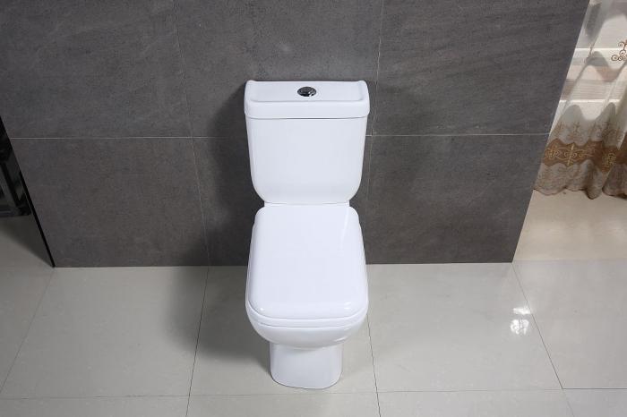 Vas wc Duobloc cu rezervor si capac Soft Close inclus, Cimberly, Dalet [3]