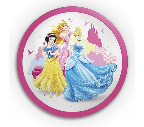 Aplica Disney Princess, K 1xLED/4W ,IP20 , roz 0