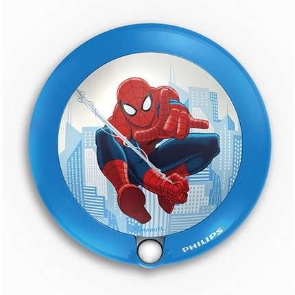 Lampa de veghe cu senzor Spiderman, K 1xLED/0,06W, IP20 0