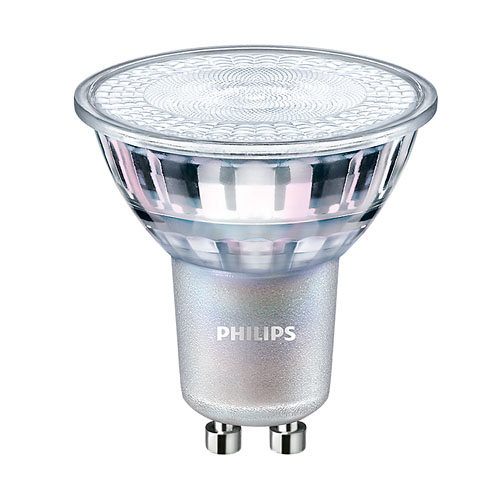 Bec LED spot lumina calda dimabil Philips GU10, 35W, 260lm MASTER Value [0]