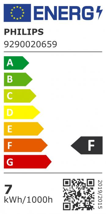 Bec LED spot lumina calda Philips GU10, 80W, 575lm Classic [1]