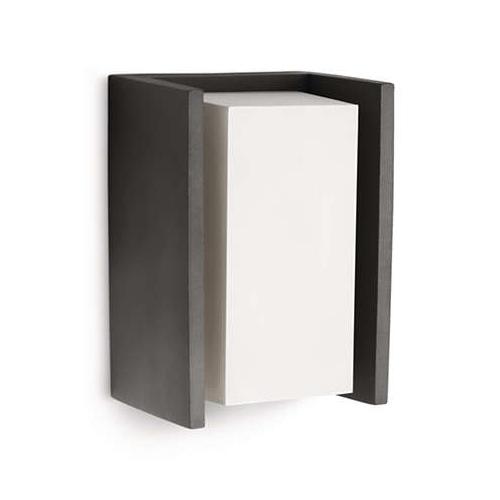 Aplica perete exterior culoare antracit, Ecomoods Bridge 0