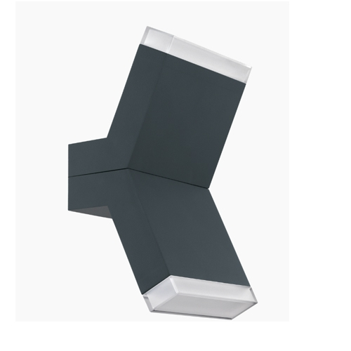Aplica led perete exterior culoare antracit, Cantzo 0