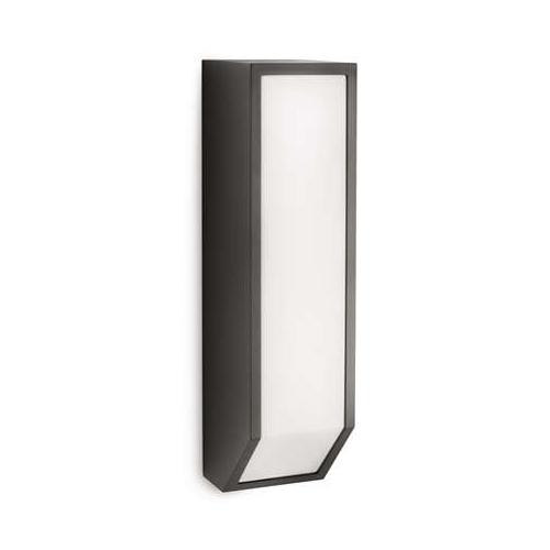 Aplica perete exterior culoare antracit, Ecomoods Feather 0