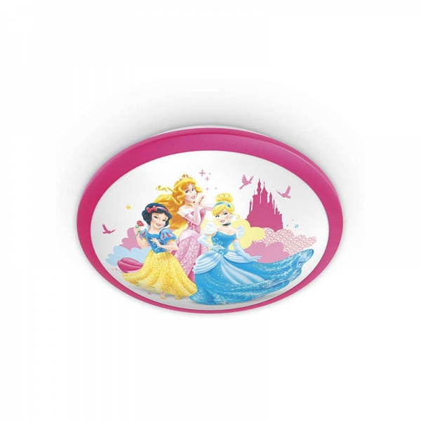 Aplica Disney Princess, K 1xLED/4W ,IP20 , roz 1