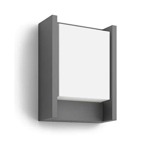 Aplica perete exterior culoare antracit, Arbour [0]