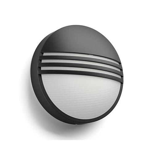 Aplica perete exterior Yarrow culoare neagra, 1x6W LED Philips [1]