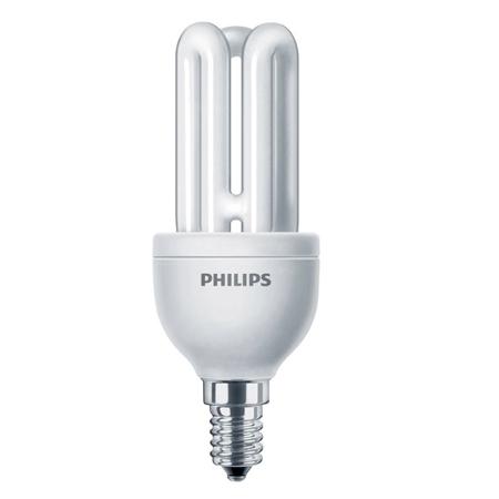 Bec economic Philips, E14, 50W, 580 lumeni, Genie [0]