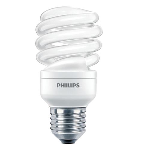 Bec economic spiralat Philips, E27 sau E14, 60W, 741 lumeni [0]