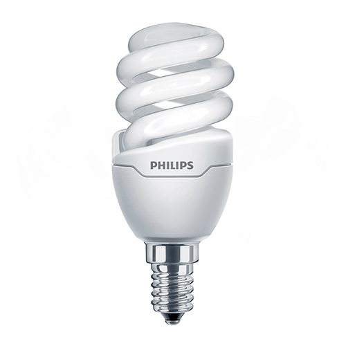 Bec economic spiralat Philips, E14, 43W, 480 lumeni [0]
