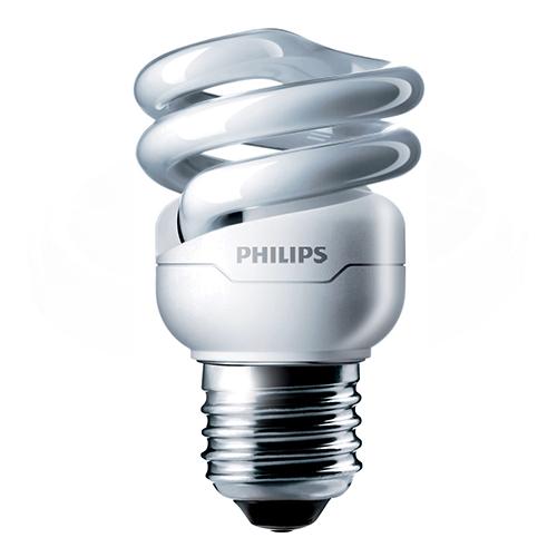 Bec economic spiralat Philips, E27 sau E14, 45W, 505 lumeni [0]