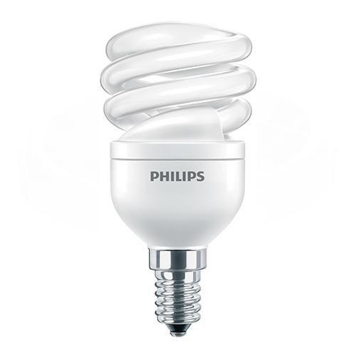 Bec economic spiralat Philips, E14 sau E27, 45W, 505 lumeni, Twister [0]