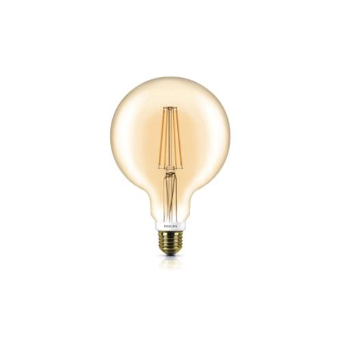 Bec led vintage Philips, E27, 50W, 630 lumeni, Classic [0]