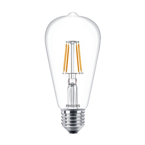 Bec led Philips, E27, 40W, 470 lumeni, Classic Filament [0]