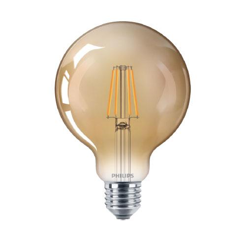 Bec led vintage Philips, E27, 35W, 400 lumeni, Filament Classic [0]