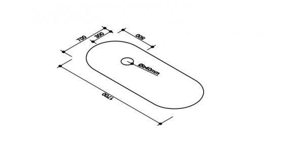 Cada baie freestanding Rondo [1]