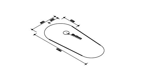 Cada baie freestanding Ovale Foglia [1]