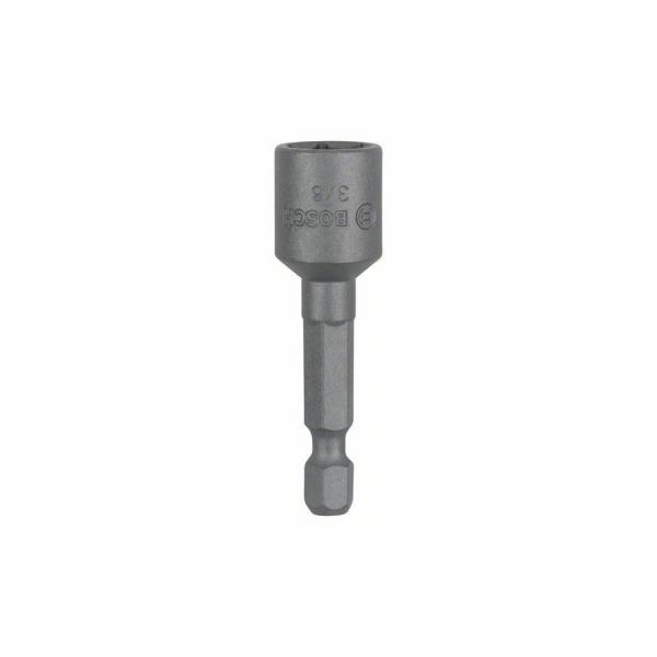 """Bit pentru insurubare tubular 50 mm x 3/8"""" cu magnet permanent [0]"""
