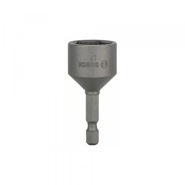 Bit pentru insurubare tubular 17 mm cu magnet permanent [0]