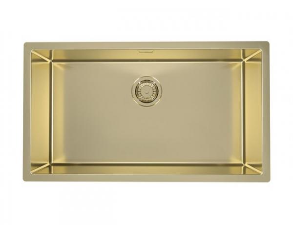 Chiuveta Bucatarie Cuva Mare Aurie Monarch Quadrix - 1220