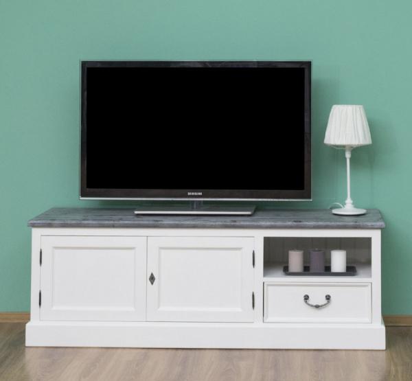 Comoda TV cu 2 usi si 1 sertar, finisaj dublu vopsit 0