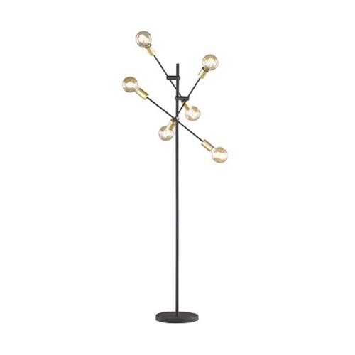 Lampadar vintage culoare negru mat, Cross 0