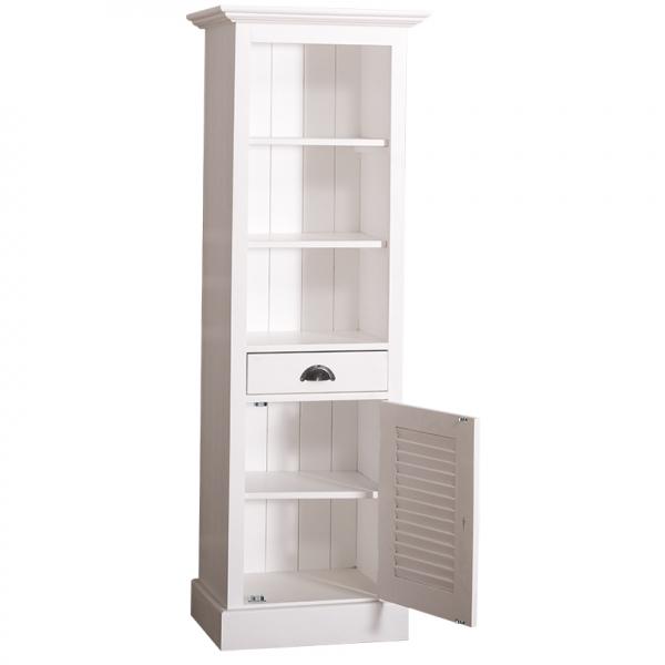 Dulap baie din lemn masiv cu o usa si un sertar Shutter 1