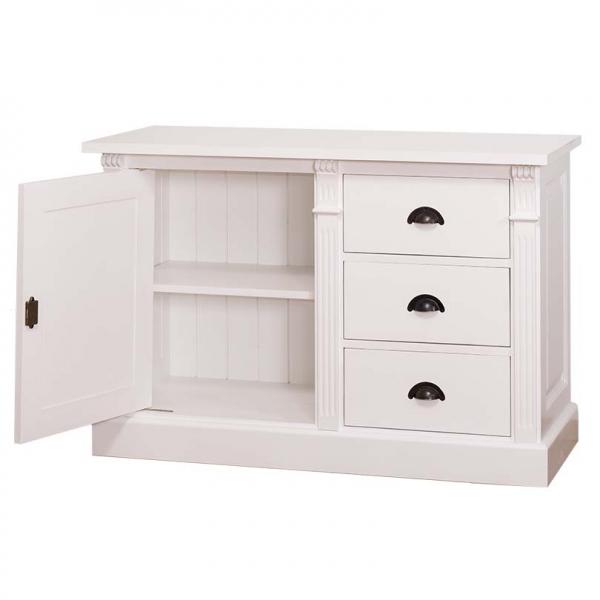 Dulap lemn masiv cu o usa si 3 sertare Directoire 1