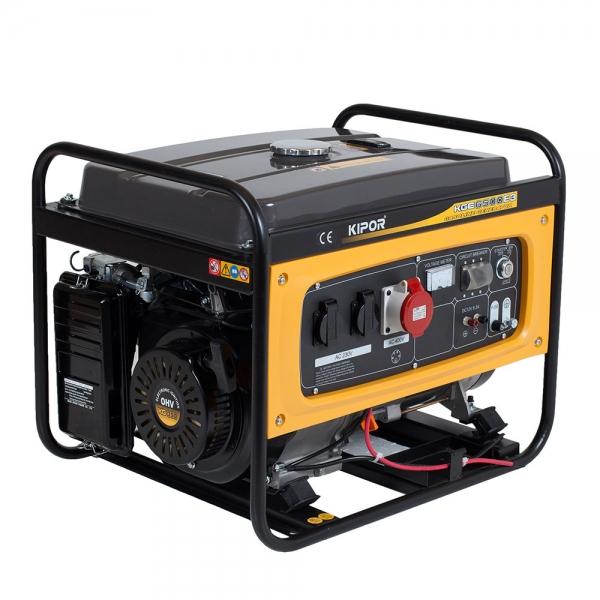 Generator curent benzina Kipor KGE 6500 E3 0