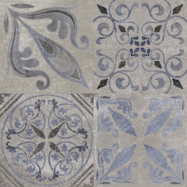 Gresie portelanata cu model Antique, 59.6x59.6 cm [0]
