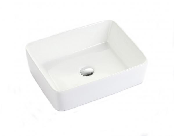 Lavoar baie pe blat Square Foglia 2