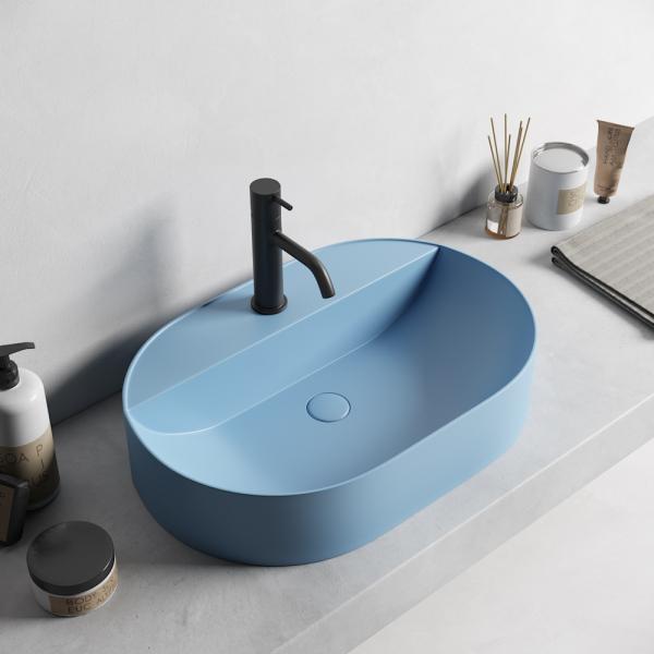Lavoar baie pe blat verde Dalet, Color [1]