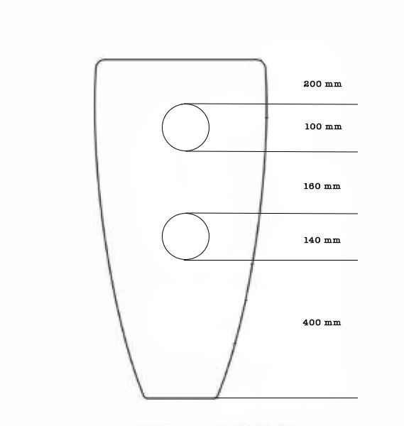 Lavoar freestanding rotund Rondo Dalet 7