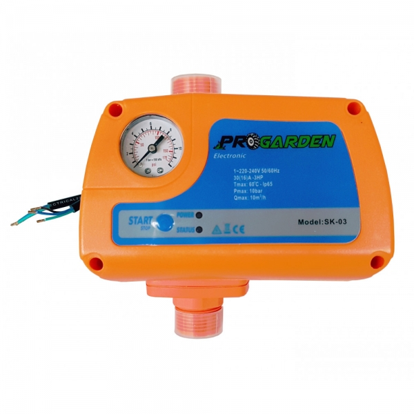 "Presostat automat electropompa max. 2.2kW, 230V, 10bar, 1"" [1]"