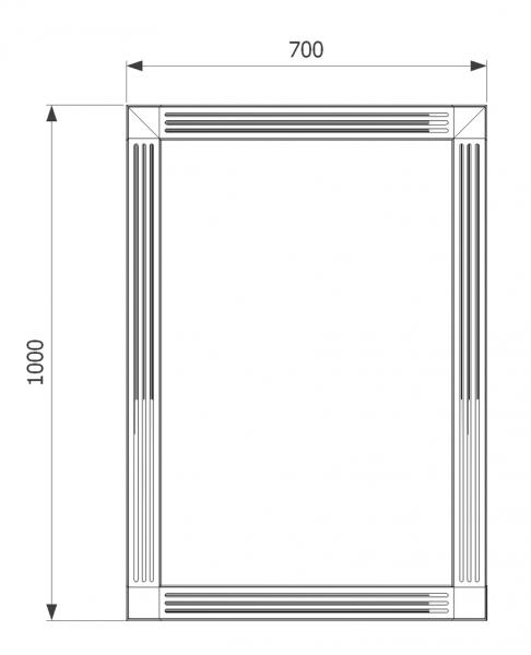 Mobilier baie albastru din lemn masiv tei opac si blat solid surface 5