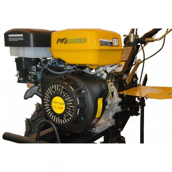 Motosapa pe benzina ProGARDEN HS 1100D, cu far 6