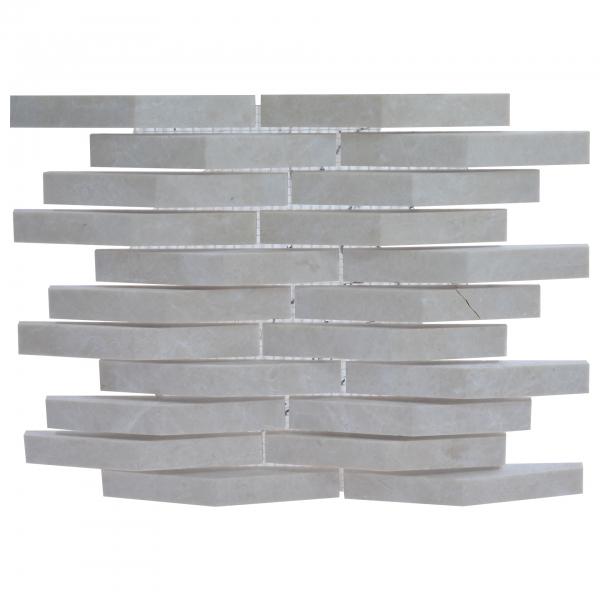 Mozaic aspect caramizi, 30 x 26.2 cm 0