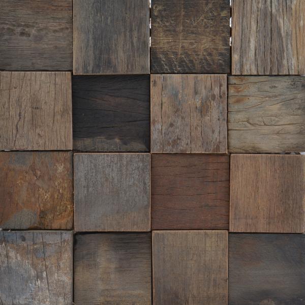 Mozaic lemn,12 mm, 30x30 cm 0