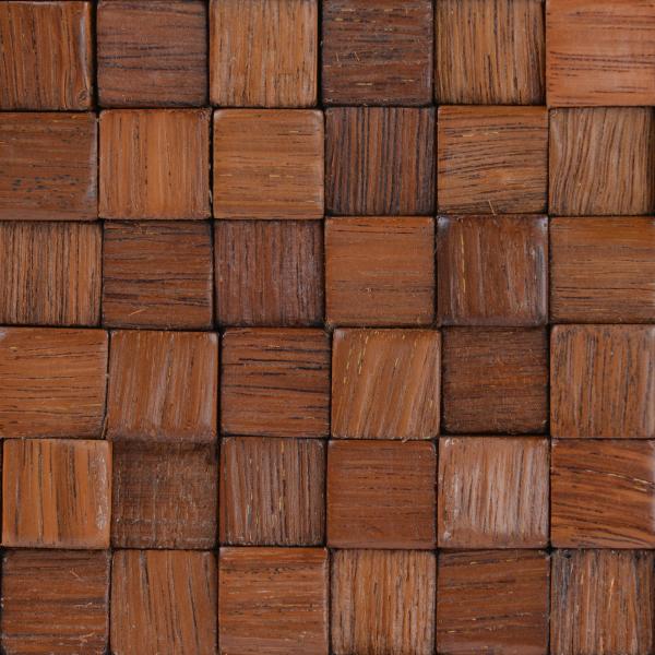 Mozaic lemn, 15 mm, 30x30 cm 1