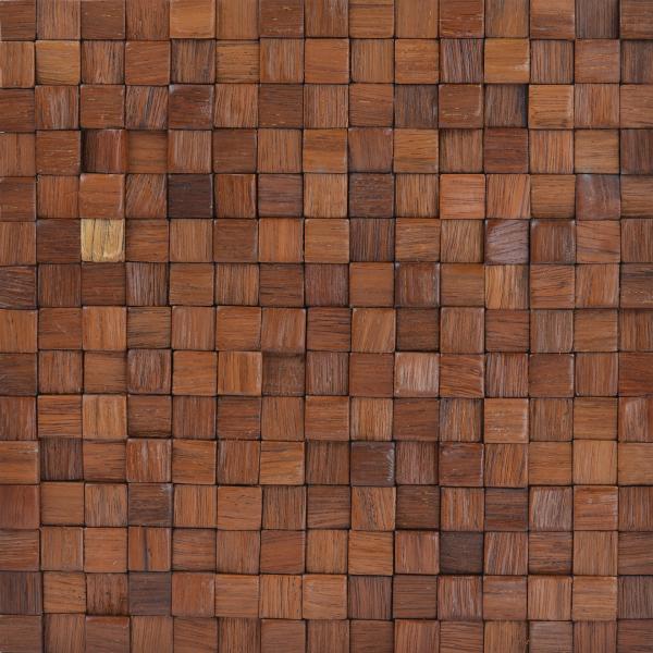 Mozaic lemn, 15 mm, 30x30 cm 0