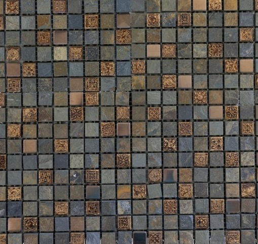 Mozaic piatra Imperia Nepal, 30x30 cm 0